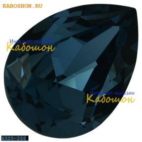 Swarovski Pear Fancy stone 14х10 мм Denim Blue