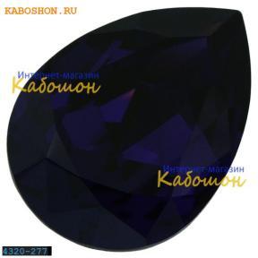Swarovski Pear Fancy stone 14х10 мм Purple Velvet