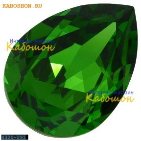Swarovski Pear Fancy stone 14х10 мм Fern Green