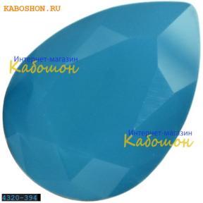 Swarovski Pear Fancy stone 14х10 мм Caribbean Blue Opal