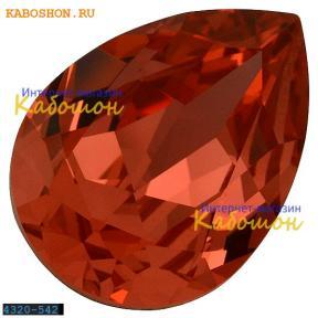 Swarovski Pear Fancy stone 14х10 мм Padparadscha