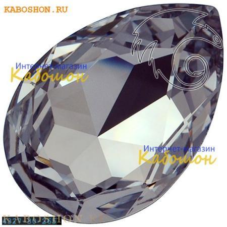 Кристалл Swarovski (Сваровски) Pear Fancy stone 30х20 мм Smoky Mauve