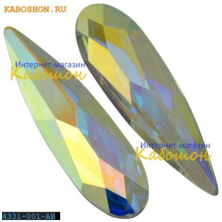 Swarovski Raindrop Fancy stone 11 мм Crystal Aurora Boreale