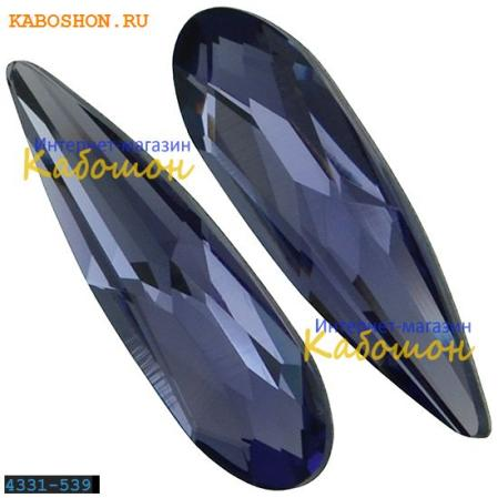 Swarovski Raindrop Fancy stone 11 мм Tanzanite