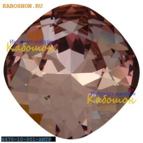 Swarovski Cushion Cut Fancy stone 10 мм Crystal Antique Pink