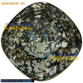 Swarovski Cushion Cut Fancy stone 10 мм Crystal Black Patina