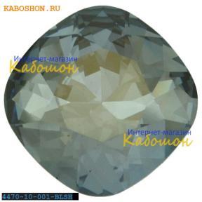 Swarovski Cushion Cut Fancy stone 10 мм Crystal Blue Shade