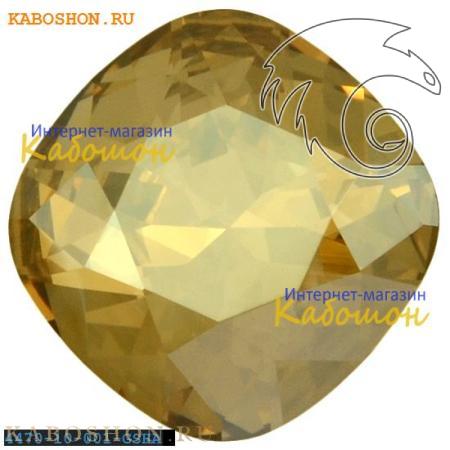 Кристалл Swarovski (Сваровски) Cushion Cut Fancy stone 10 мм Crystal Golden Shadow