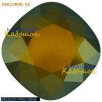 Swarovski Cushion Cut Fancy stone 10 мм Crystal Iridescent Green