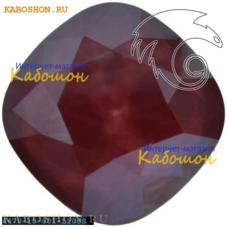 Кристалл Swarovski (Сваровски) Cushion Cut Fancy stone 10 мм Crystal Dark Red