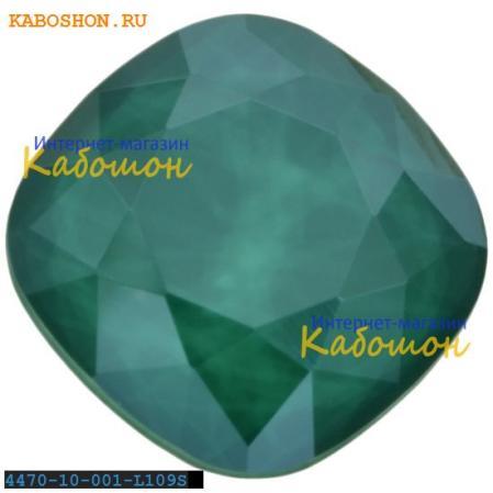 Swarovski Cushion Cut Fancy stone 10 мм Crystal Royal Green