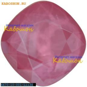 Swarovski Cushion Cut Fancy stone 10 мм Crystal Peony Pink