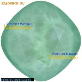 Swarovski Cushion Cut Fancy stone 10 мм Crystal Mint Green
