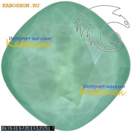 Кристалл Swarovski (Сваровски) Cushion Cut Fancy stone 10 мм Crystal Mint Green