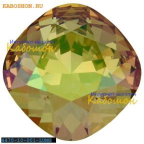 Swarovski Cushion Cut Fancy stone 10 мм Crystal Luminous Green