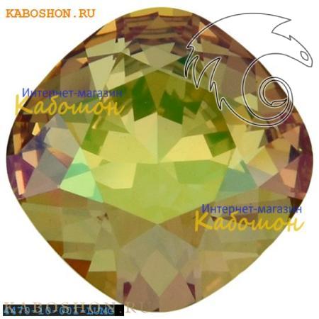 Swarovski Cushion Cut Fancy stone 10 мм Crystal Luminous Green 4470-10-001-LUMG