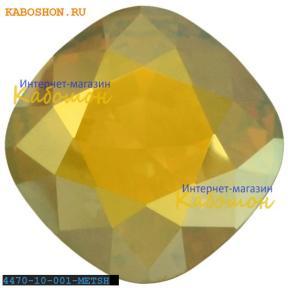 Swarovski Cushion Cut Fancy stone 10 мм Crystal Metallic Sunshin