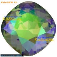 Swarovski Cushion Cut Fancy stone 10 мм Crystal Paradise Shine