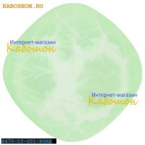 Swarovski Cushion Cut Fancy stone 10 мм Crystal Powder Green