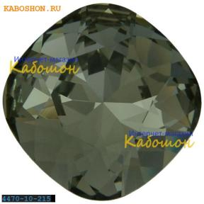 Swarovski Cushion Cut Fancy stone 10 мм Black Diamond