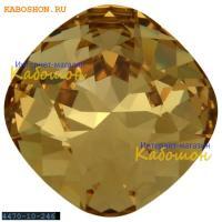 Swarovski Cushion Cut Fancy stone 10 мм Light Colorado Topaz