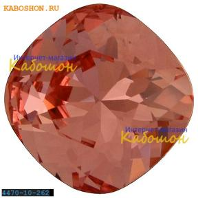 Swarovski Cushion Cut Fancy stone 10 мм Rose Peach