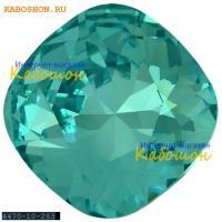Swarovski Cushion Cut Fancy stone 10 мм Light Turquoise