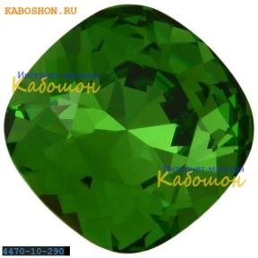 Swarovski Cushion Cut Fancy stone 10 мм Fern Green