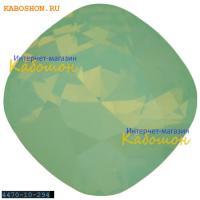 Swarovski Cushion Cut Fancy stone 10 мм Chrysolite Opal