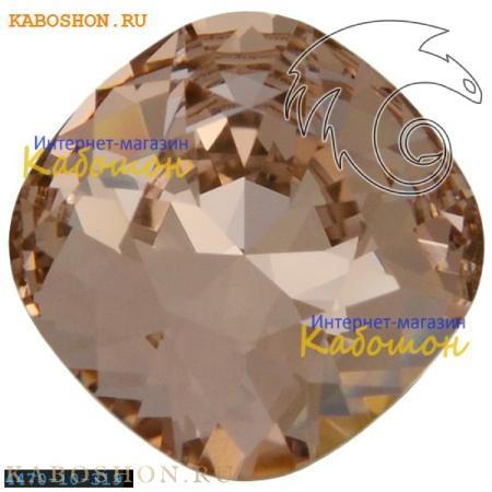 Кристалл Swarovski (Сваровски) Cushion Cut Fancy stone 10 мм Vintage Rose