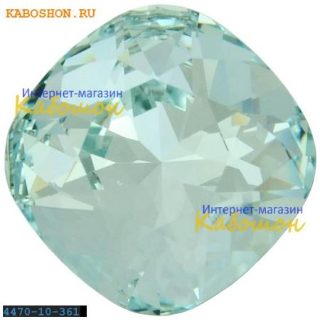 Кристалл Swarovski (Сваровски) Cushion Cut Fancy stone 10 мм Light Azore