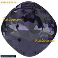 Swarovski Cushion Cut Fancy stone 10 мм Tanzanite