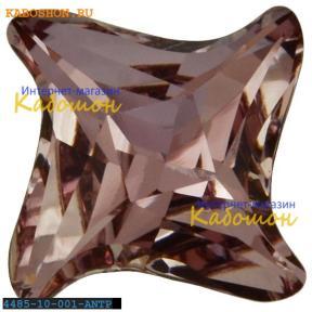 Swarovski Twister Fancy stone 10,5 мм Crystal Antique Pink