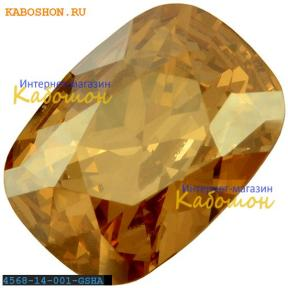 Swarovski Cushion fancy stone 14х10 мм Crystal Golden Shadow
