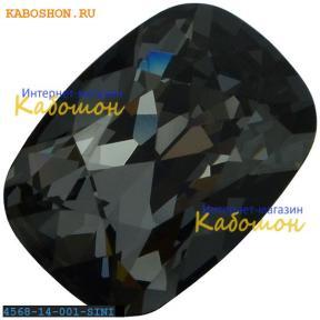 Swarovski Cushion fancy stone 14х10 мм Crystal Silver Night