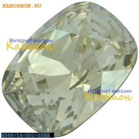 Swarovski Cushion fancy stone 14х10 мм Crystal Silver Shade