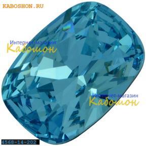 Swarovski Cushion fancy stone 14х10 мм Aquamarine