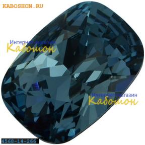 Swarovski Cushion fancy stone 14х10 мм Denim Blue