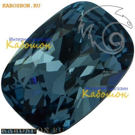 Кристалл Swarovski (Сваровски) Cushion fancy stone 14х10 мм Denim Blue
