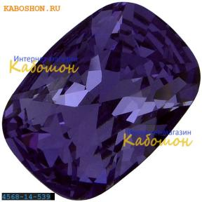Swarovski Cushion fancy stone 14х10 мм Tanzanite