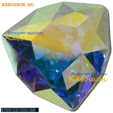 Swarovski Trilliant fancy stone 12 мм Crystal AB