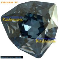 Swarovski Trilliant fancy stone 12 мм Crystal Blue Shade
