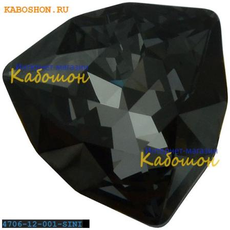 Swarovski Trilliant fancy stone 12 мм Crystal Silver Night