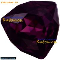 Swarovski Trilliant fancy stone 12 мм Amethyst