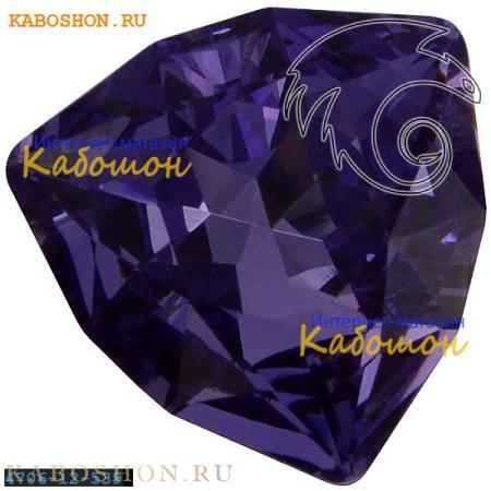 Кристалл Swarovski (Сваровски) Trilliant fancy stone 12 мм Tanzanite