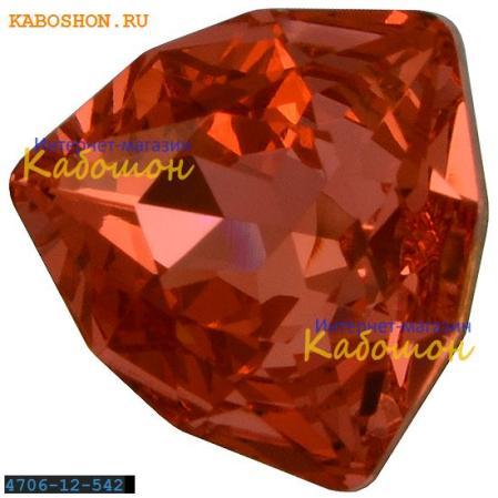 Swarovski Trilliant fancy stone 12 мм Padparadsha