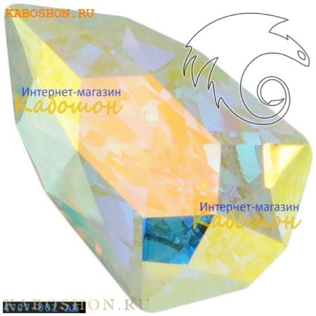 Кристалл Swarovski (Сваровски) Slim Trilliant 7,8х4,9 мм Crystal AB