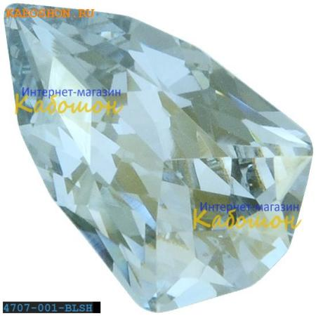 Кристалл Swarovski (Сваровски) Slim Trilliant 7,8х4,9 мм Crystal Blue Shade