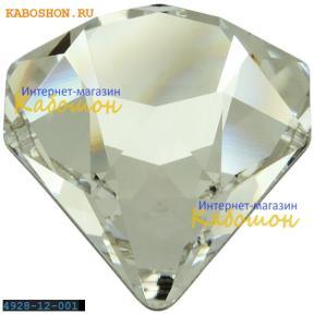 Swarovski 4928 Tilted Chaton 12 мм Crystal