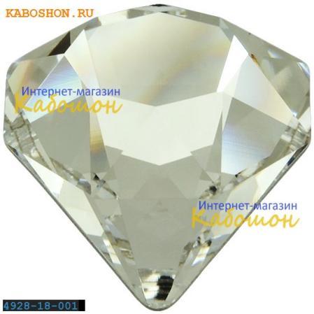 Swarovski 4928 Tilted Chaton 18 мм Crystal